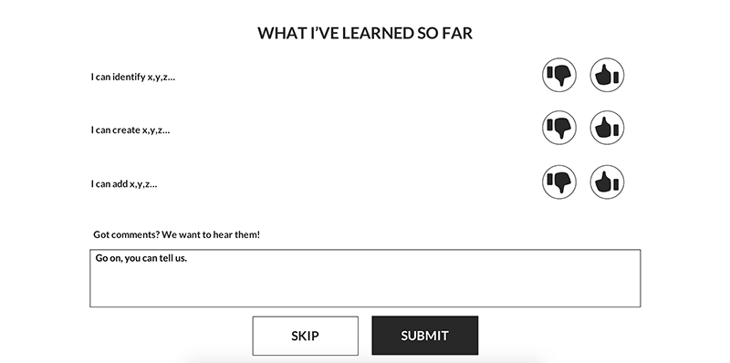 Survey Screenshot
